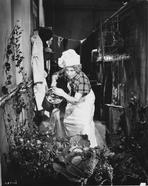 Marx Brothers - Marx Brothers with a Woman Watering the Plants