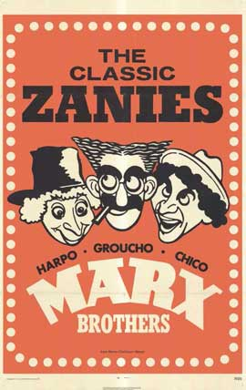 Marx Brothers - 11 x 17 Movie Poster - Style C
