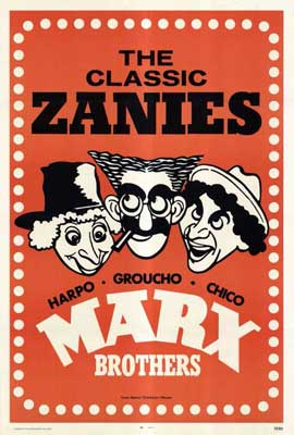 Marx Brothers - 27 x 40 Movie Poster - Style B