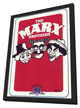Marx Brothers - 11 x 17 Movie Poster - Style A - in Deluxe Wood Frame