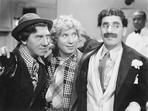 Marx Brothers - Marx Brothers Portrait of Three Men smiling- Photograph Print