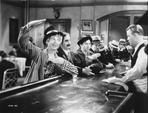 Marx Brothers - Marx Brothers in Movie Scene at the Bar