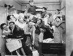 Marx Brothers - Marx Brothers in Movie Scene- Photograph Print