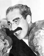 Marx Brothers - Marx Brothers smiling in Black and White With Eyeglasses