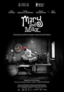 Mary and Max - 11 x 17 Movie Poster - Style A
