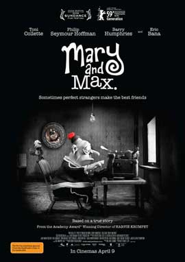 Mary and Max - 11 x 17 Movie Poster - Australian Style A