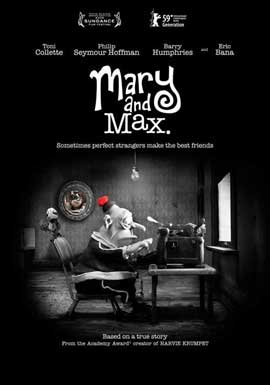 Mary and Max - 11 x 17 Movie Poster - Style B