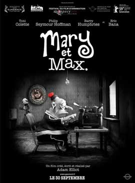 Mary and Max - 11 x 17 Movie Poster - French Style A