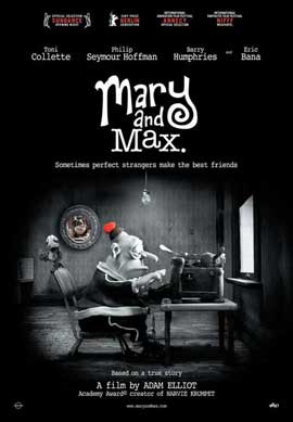 Mary and Max - 11 x 17 Movie Poster - Swiss Style A