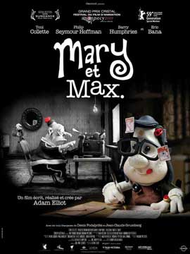 Mary and Max - 11 x 17 Movie Poster - French Style B