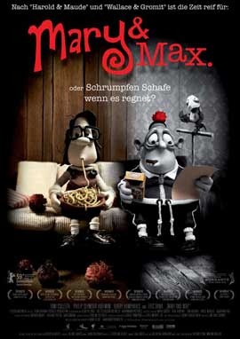 Mary and Max - 27 x 40 Movie Poster - Style D