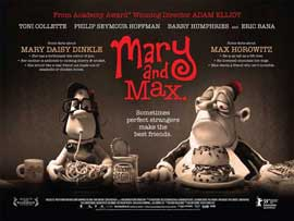 Mary and Max - 11 x 17 Movie Poster - UK Style A