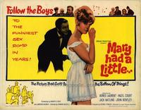 Mary Had a Little... - 22 x 28 Movie Poster - Half Sheet Style A
