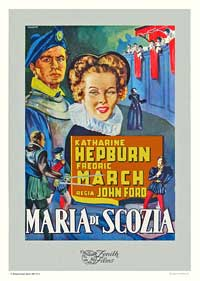 Mary of Scotland - 11 x 17 Movie Poster - Italian Style A