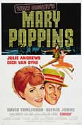 Mary Poppins - 27 x 40 Movie Poster - Style F