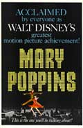 Mary Poppins - 27 x 40 Movie Poster - Style G