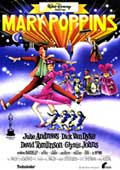 Mary Poppins - 27 x 40 Movie Poster - Spanish Style A