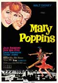 Mary Poppins - 43 x 62 Movie Poster - Spanish Style A