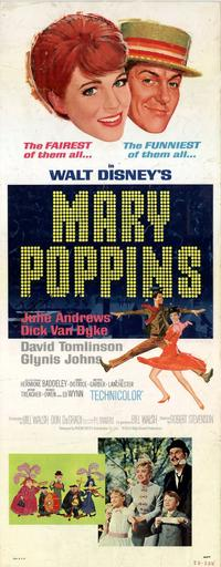 Mary Poppins - 11 x 17 Movie Poster - Style B