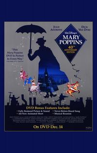 Mary Poppins - 11 x 17 Movie Poster - Style C