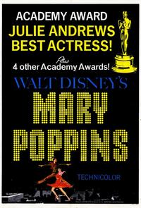 Mary Poppins - 11 x 17 Movie Poster - Style E