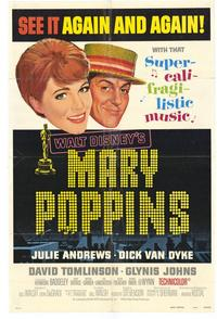 Mary Poppins - 11 x 17 Movie Poster - Style A
