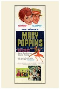 Mary Poppins - 27 x 40 Movie Poster - Style B