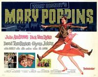 Mary Poppins - 22 x 28 Movie Poster - Half Sheet Style A