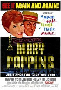 Mary Poppins - 27 x 40 Movie Poster - Style C