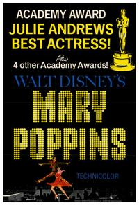 Mary Poppins - 27 x 40 Movie Poster - Style D