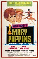 Mary Poppins - 11 x 17 Movie Poster - Style F