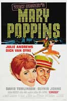 Mary Poppins - 11 x 17 Movie Poster - Style G