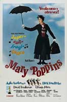 Mary Poppins - 11 x 17 Movie Poster - Spanish Style B