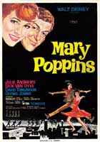 Mary Poppins - 27 x 40 Movie Poster - Spanish Style C