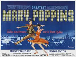 Mary Poppins - 30 x 40 Movie Poster UK - Style A