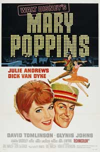 Mary Poppins - 11 x 17 Movie Poster - Style I