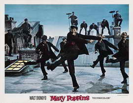 Mary Poppins - 11 x 14 Movie Poster - Style C