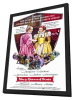 Mary, Queen of Scots - 11 x 17 Movie Poster - Style A - in Deluxe Wood Frame