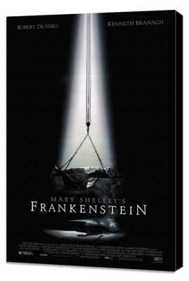 Mary Shelley's Frankenstein - 27 x 40 Movie Poster - Style A - Museum Wrapped Canvas