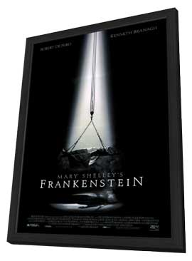 Mary Shelley's Frankenstein - 11 x 17 Movie Poster - Style A - in Deluxe Wood Frame