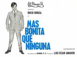 Mas bonita que ninguna - 27 x 40 Movie Poster - Spanish Style A