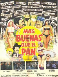 Mas buenas que el pan - 11 x 17 Movie Poster - Spanish Style A