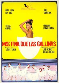 Mas fina que las gallinas - 11 x 17 Movie Poster - Spanish Style A