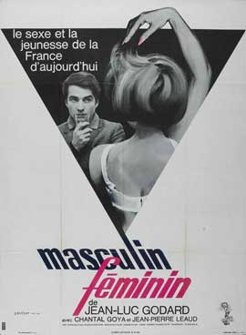 Masculine, Feminine: In 15 Acts - 11 x 17 Movie Poster - French Style A