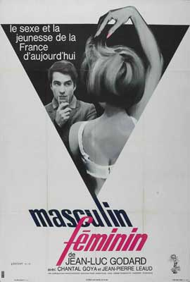 Masculine, Feminine: In 15 Acts - 27 x 40 Movie Poster - French Style A