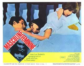 Masculine Feminine - 11 x 14 Movie Poster - Style H