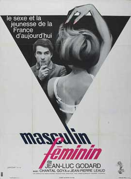 Masculine Feminine - 11 x 17 Movie Poster - French Style B