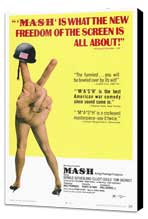 M*A*S*H - 27 x 40 Movie Poster - Style A - Museum Wrapped Canvas