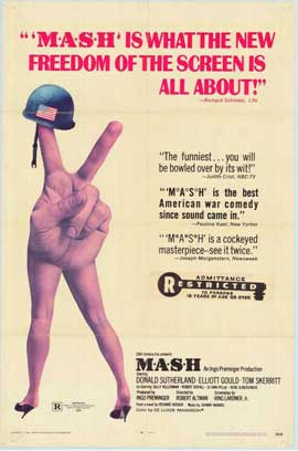 M*A*S*H - 11 x 17 Movie Poster - Style C