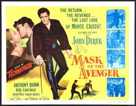Mask of the Avenger - 11 x 14 Movie Poster - Style A
